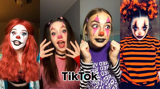 Смайлик клоуна — новый тренд в Тик токе