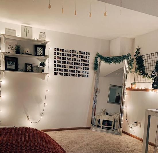 Красивый дизайн комнаты для тиктокера