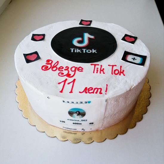 Как приготовить тортик в стиле Тик ток